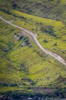 carretera empinada foto