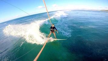 kitesurf gopro selfie havaí