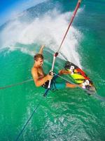 extreme sport, kiteboarden