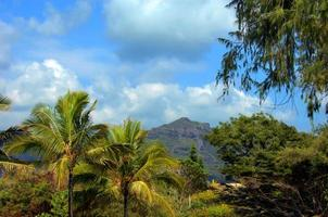 Rugged Mountain Peak on Kauai