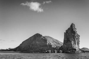 Bartolome Island in Galapagos, Ecuador photo
