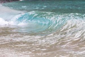 ola del océano foto