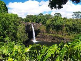 Rainbow Falls en Big Island, Hawaii