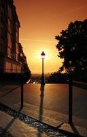 Montmatre street in Paris