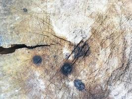 Grunge old dirty wood block texture background photo