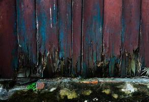 tablones de madera vieja foto