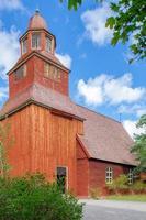 Iglesia de madera del país