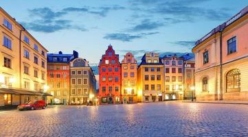 stockholm - stortorget plaats in gamla stan
