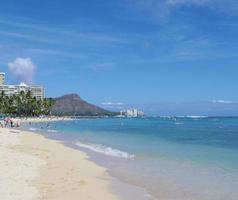 Diamond Head and Waikiki Beach photo
