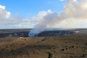 Kilauea caldera photo