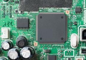 Circuito electrónico para patrón y fondo.