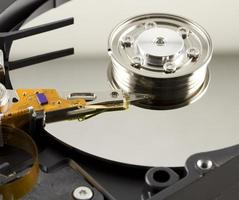 Hard disk from within