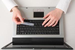 Buying through internet