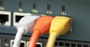 cables de ethernet foto