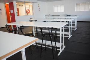 Empty class room photo