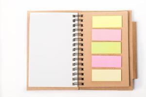 papel de libro diario en blanco