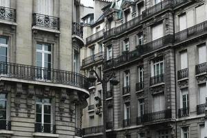 paredes grises de París foto