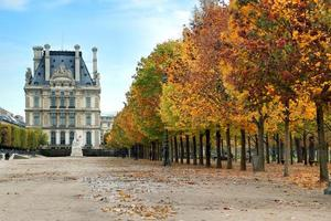 Autumn in Paris photo