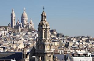 Roofs of Paris photo