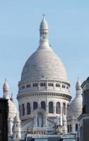 Sacré-coeur dome in Montmartre photo