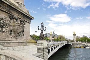 Bridge Alexandre III photo