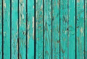 old shabby wooden planks with cracked paint,  retro  background photo