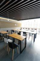 intérieur de bar à café