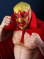 Luchador portrait photo