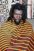 Rastafarian portrait