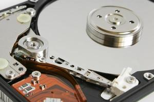 detalle del disco duro foto