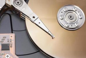 abrir disco duro foto