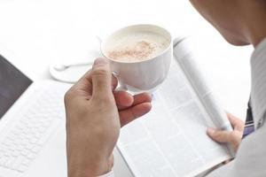 Hora de cafe foto
