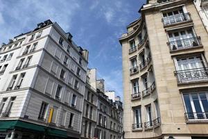 street of  Paris, France