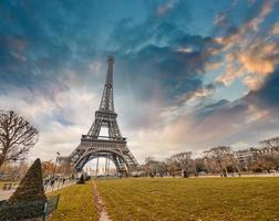 Paris. Beautiful city landmarks