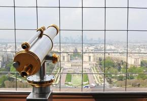 binoculares turísticos foto