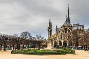 Notre-Dame achteraanzicht