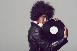 DJ portrait photo