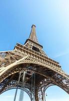 Eiffel Tower Paris summer photo