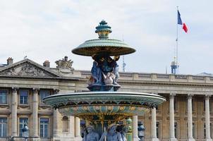 Fontaine des Fleuves, Paris photo