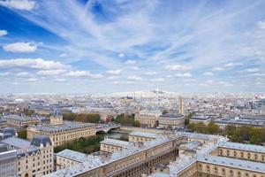 paisaje urbano mont matre, paris, francia foto