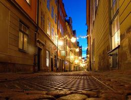 Estocolmo, Suecia, paisaje urbano foto