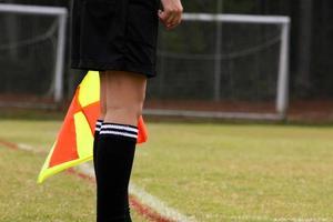árbitro de fútbol foto