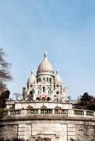 Basílica Sacre Coeur en París foto