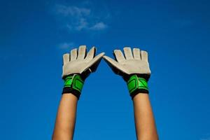 Hands Goalkeeper photo
