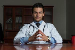 retrato del doctor foto