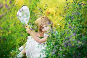 retrato de verano foto