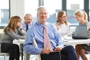 Executive manager portrait