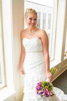 Bridal Portrait Indoors photo