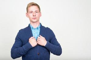 Portrait of man photo
