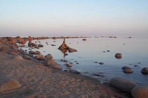 tarde en el golfo de finlandia